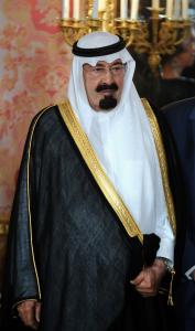 Fig. 37 - Re 'Abd Allāh d'Arabia Saudita