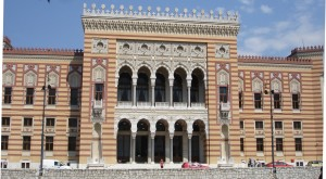13-Sarajevo-National and University Library of Bosnia and Herzegovina