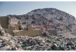 20-Tibet, Ganden monastery, 1985