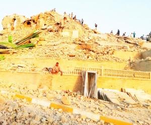 19-Mōṣul-Yūnis' tomb after destruction