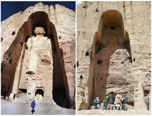 23-Bamiyan-site of the two giant Buddha's statues
